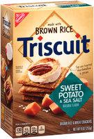 Nabisco Triscuit - Crackers - Brown Rice & Wheat Sweet Potato & Sea Salt