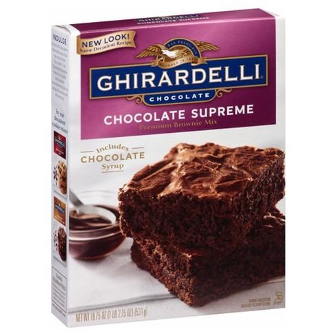 Ghirardelli Supreme Brownie Mix Chocolate