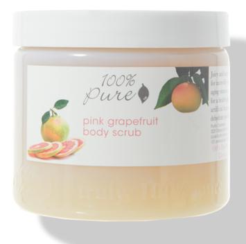 100% Pure Pink Grapefruit Body Scrub
