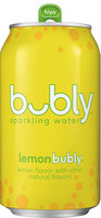 Bubly Sparkling Water Lemon