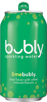 Bubly Sparkling Water Lime