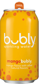 Bubly Sparkling Water Mango