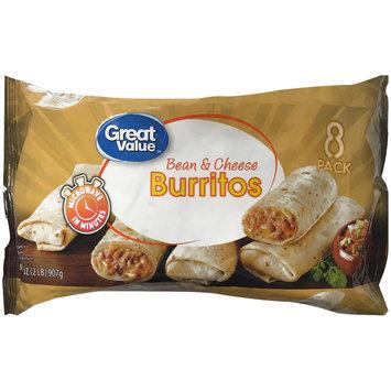 Great Value™ Bean & Cheese Burritos