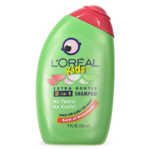 L'oréal Paris Kids Extra Gentle 2-in-1 Shampoo With a Burst of Watermelon