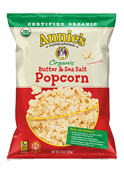 Annie's®  Organic Butter & Sea Salt Popcorn