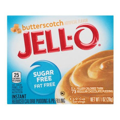 JELL-O Butterscotch Instant Reduced Calorie Pudding & Pie Filling