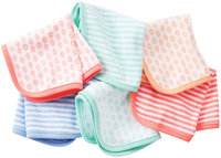 Carter's 6pk Washcloth Girl- Assorted