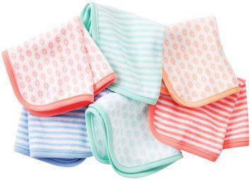 Carter's 6pk Washcloth Girl- Assorted