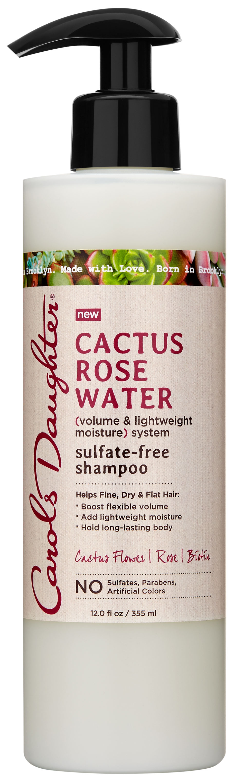 Carol's Daughter Cactus Rose Water Sulfate-Free Shampoo