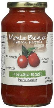 Monte Bene Tomato Basil Pasta Sauce, 24 oz