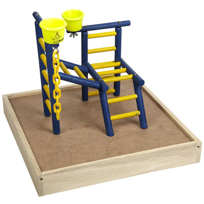 Caitec Bird Toys Caitec TPL 14 Toddler 14 in. Playland