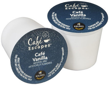 Caf Escapes Caf Vanilla K-Cups