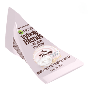 Garnier Whole Blends Care Cream Oat Delicacy Hair Mask