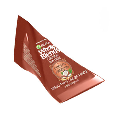 Garnier Whole Blends Care Cream Coconut Oil & Cocoa Butter Extracts Hair Mask