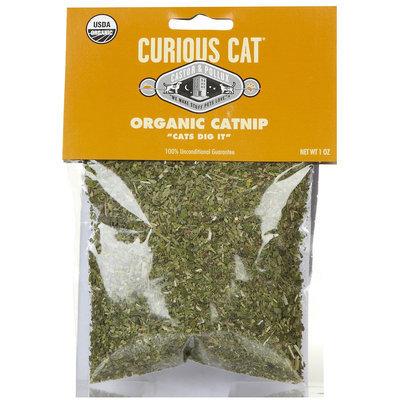 Castor & Pollux Curious Cat Organic Catnip - 1 oz