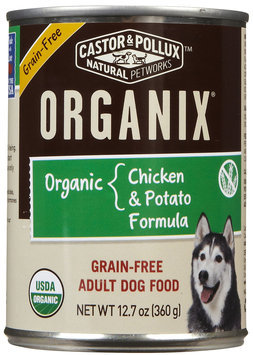 Best Friend Products Corp Organix GF Can Dog Food 12 Pack Chicken/Potato