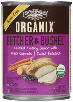 Castor & Pollux Organix Butcher & Bushel Organic Canned Food - 12x12.7oz