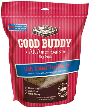 Castor & Pollux Good Buddy All Americans Treats - Beef Recipe