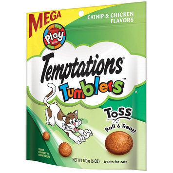 TEMPTATIONS™ Tumblers Catnip And Chicken Flavor