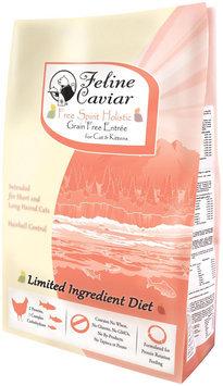 Feline Caviar Free Spirit Holistic Grain Free Cat & Kitten Entree - Chicken & Salmon