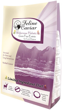 Feline Caviar Wilderness Holistic Grain Free Entree Dry Cat Food