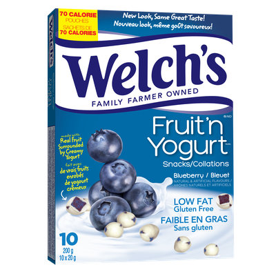 Welch's® Blueberry Fruit 'n Yogurt™ Snacks