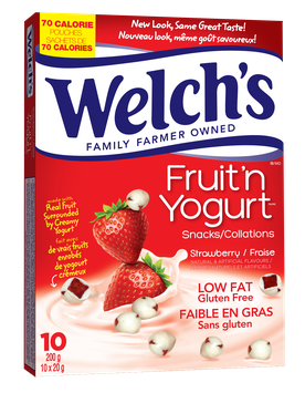 Welch's® Strawberry Fruit 'n Yogurt™ Snacks