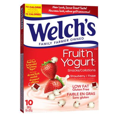 Welch's® Strawberry Fruit 'n Yogurt™ Snacks