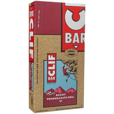 Clif Bar Energy Bar Berry Pomegranate Chia 12 Bars