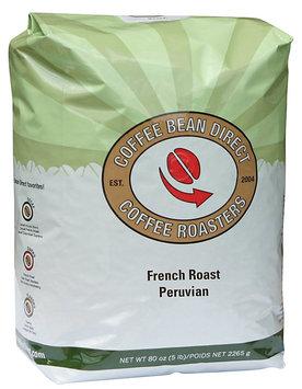 Coffee Bean Direct French Roast Peruvian, Whole Bean