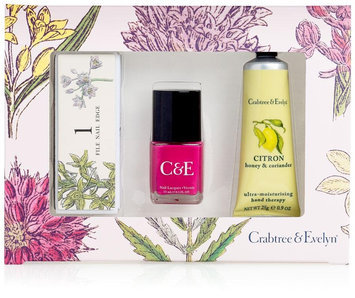 Crabtree & Evelyn Citron, Honey & Coriander Pretty Hands - 3ct