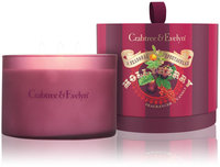 Crabtree & Evelyn Hollyberry 3-Wick Candle