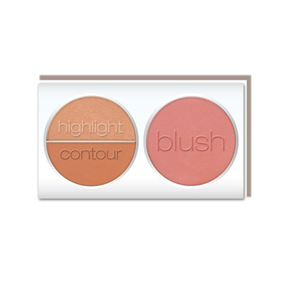 L.A. Colors 3D Blush Contour Palette