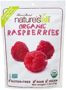 Natures All Nature's All Foods Organic Freeze Dried Fruit - Raspberry - 1.3 oz