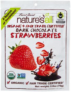 Nature`s All Foods Nature's All Foods Organic Dark Chocolate Strawberries 2.8 oz