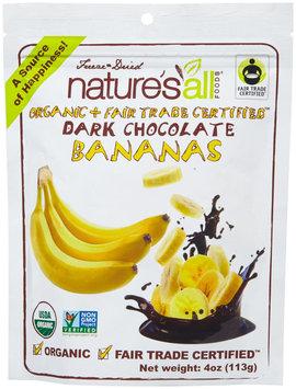 Nature's All Foods Organic Dark Chocolate Bananas 4 oz
