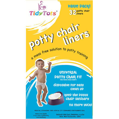 Tidy Tots Disposable Potty Chair Liners - 32-count Value Pack - 1 ct.
