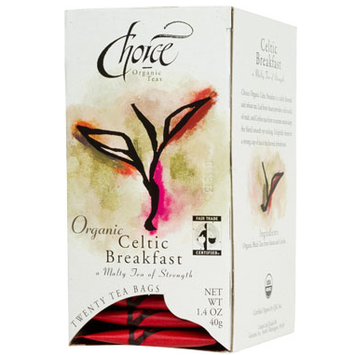 Choice Organic Teas Celtic Breakfast Tea