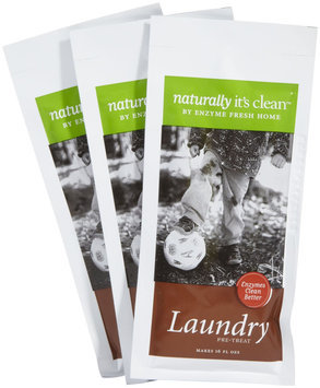 Naturally It's Clean Natural Enzyme Stain Remover Refill Packets, Citrus