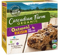 Cascadian Farm Organic Oatmeal Raisin Granola Bars