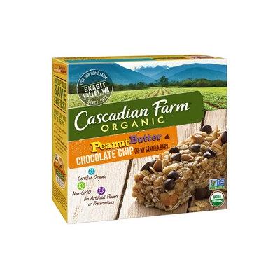 Cascadian Farm Organic Peanut Butter Chip Chewy Granola Bars