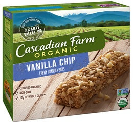 Cascadian Farms Vanilla Chip Chewy Granola Bars