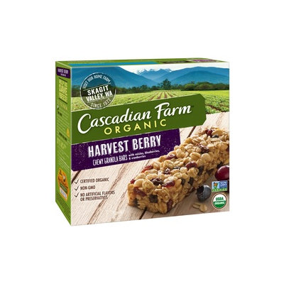 Cascadian Farm Organic Harvest Berry Chewy Granola Bars