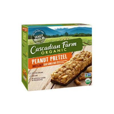 Cascadian Farm Organic Sweet & Salty Peanut Pretzel Chewy Granola Bars