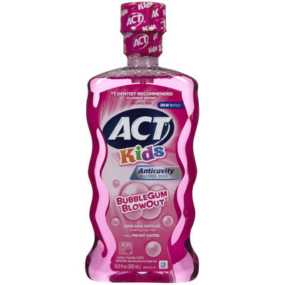 ACT Anti-Cavity Rinse Bubblegum Blowout