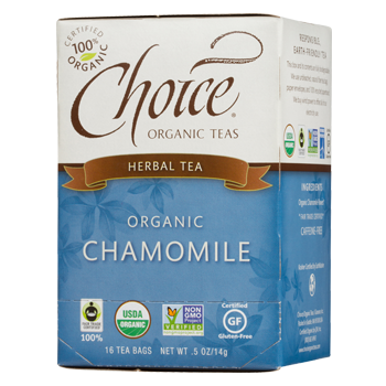 Choice Organic Teas Chamomile Herbal Tea