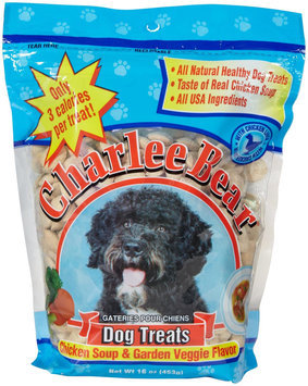 Charlee Bear Chicken Soup & Garden Veggie Dog Treats
