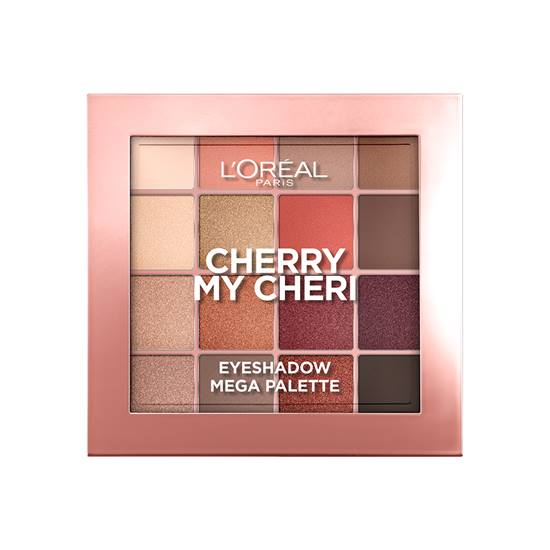 L'Oréal Paris Cherry My Cheri 16 Shade Eyeshadow Palette