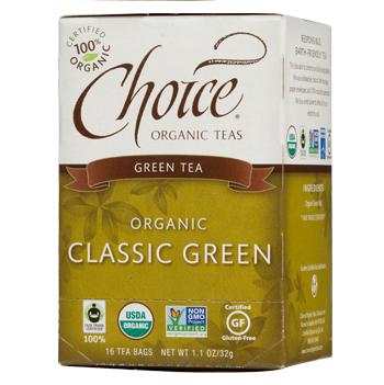 Choice Organic Teas Classic Green Green Tea