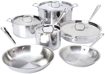 All Clad All-Clad Stainless Steel Set, 10-pc